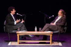 UCSB Arts & Lectures - Jeff Bridges interviewing Tony Kushner 10/15/04 Campbell Hall