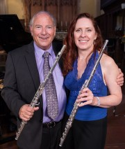 Flautists Paul Fried Thibaudet & Suzanne Duffy 2014 Trinity Church, Santa Barbara, CA