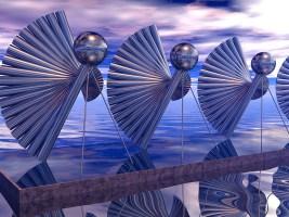 "Virtual Sculpture #1 ""Future Turkeys"" - first in a series"