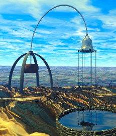 "Virtual Scuplture #4 ""Wind Bell"""
