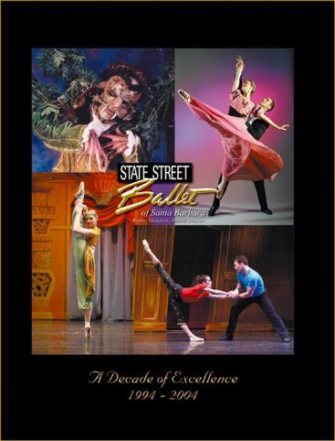 State Street Ballet Program Book cover