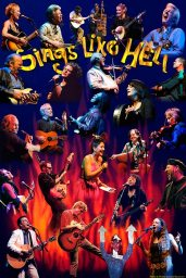 Poster of performers at Sings Like Hell