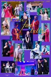 "Photo Poster from ""Cosi Fan Tutti"" - Music Adacemy of the West"