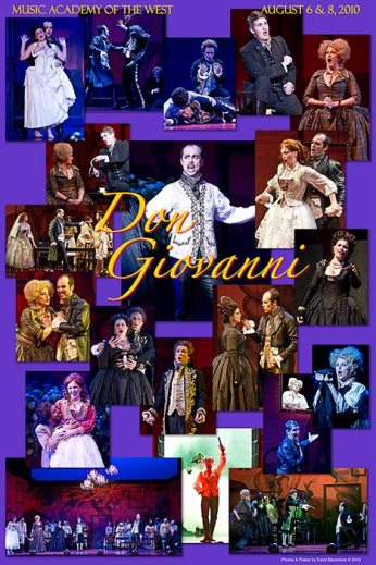 "Photo Poster from ""Don Giovanni"" - Music Adacemy of the West"