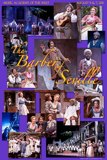 "Photo Poster from ""The Barber of Seville"" - Music Adacemy of the West"