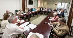 Opera Santa Barbara Board of Directors meeting for Giannin Schicchi/Suor Angelica production