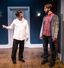 "Cory Kahane (Jonah) and, Adam Silver (Liam) - Ensemble Theatre Co. ""Bad Jews"" 4/13/16 Alhecama Theatre"
