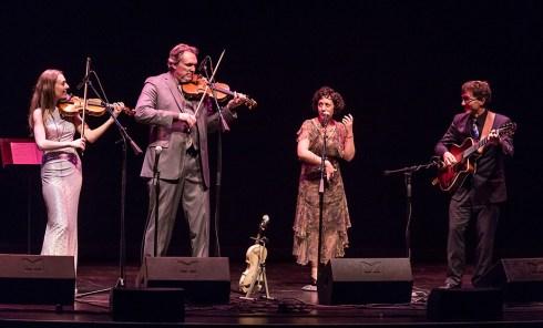 Lobero Live! Mark O'Conner's Hot Swing w/Maggie O'Conner 4/9/16 Lobero Theatre