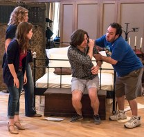 "Artists in Opera Santa Barbara's ""Gianni Schicchi"" staging rehearsal 3/31/16 Weinman Hall, MAW"
