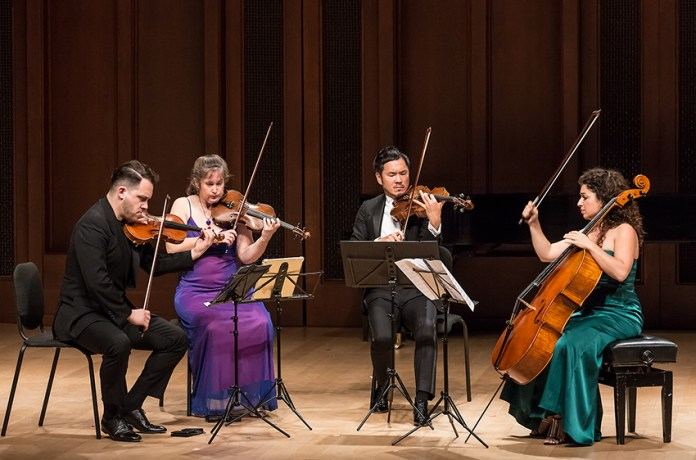 Samuel Barber's String Quartet in B minor, Op. 11 5/13/16 Hahn Hall