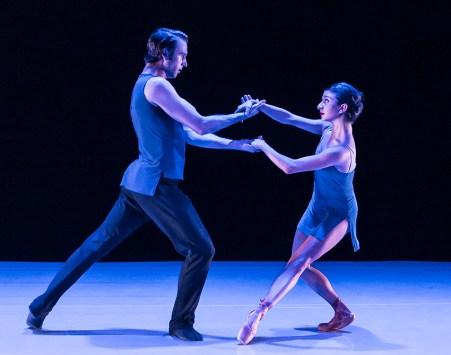 "State Street Ballet - Jack Stewart & Lili Hogtanian in ""Vista"" by Sophie Monat 5/14/16 New Vic Theatre"