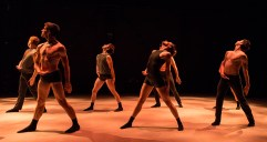 """State Street Ballet dancers in """"(con)version"""" by Kassandra Taylor Newberry 5/14/16 New Vic Theatre"""