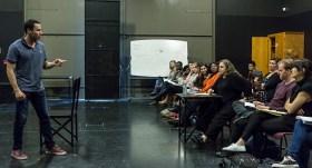 Kathleen Turner Workshop for UCSB Dept. of Theater & Dance 4/21/16
