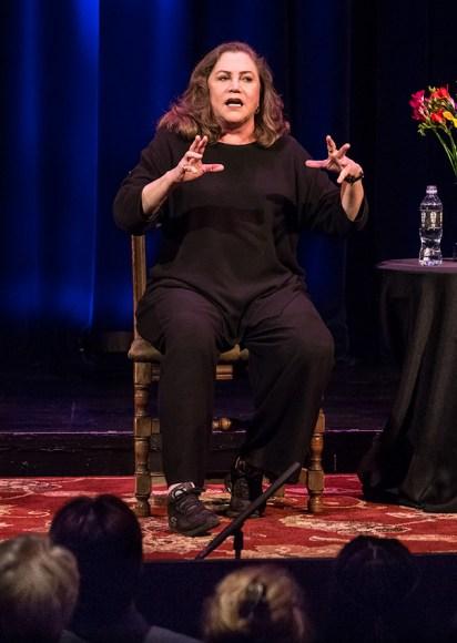 Actress Kathleen Turner tells it like it is 4/21/16 Hatlen Theater