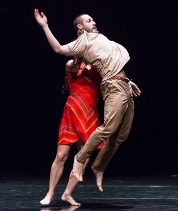 Laja Field and Martin Durov - Vim Vigor Dance Co. preview for DANCEworks Santa Barbara residency 5/7/16 Lobero Theatre