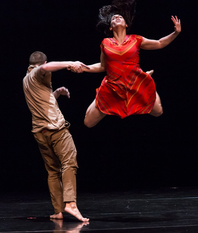 Martin Durov and Laja Field - Vim Vigor Dance Co. preview for DANCEworks Santa Barbara residency 5/7/16 Lobero Theatre