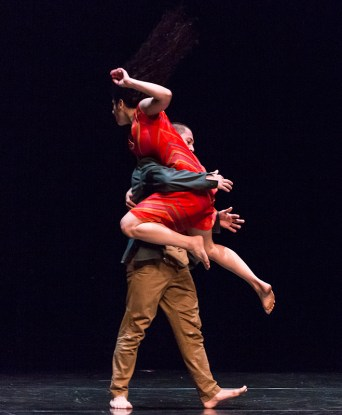 Laja Field and Martin Durov - Vim Vigor Dance Co. preview for DANCEworks Santa Barbara residency 5/7/16 Lobero Theatre