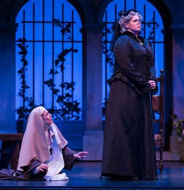 Soprano Maria Kanyova (Suor Angelica) & mezzo soprano Alissa Anderson (la Principessa) - Opera Santa Barbara 4/20/16 Granada Theatre