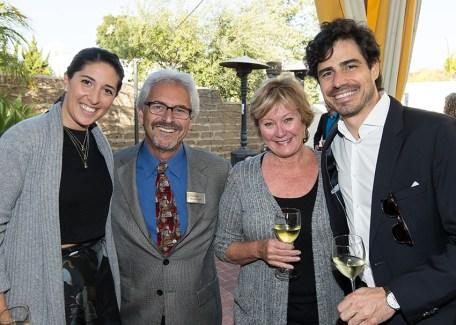 Santa Barbara Chamber Orchestra Supper Club 5/17/16 Lobero Theatre courtyard