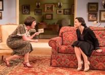 Paige Lindsey White (Julia Sterroll) & Julie Granata (Jane Banbury) - Ensemble Theatre Company 6/8/16 New Vic Theatre