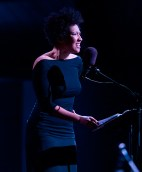 Ojai Music Festival - soprano Julia Bullock as Josephine Baker 6/11/16 Libbey Bowl