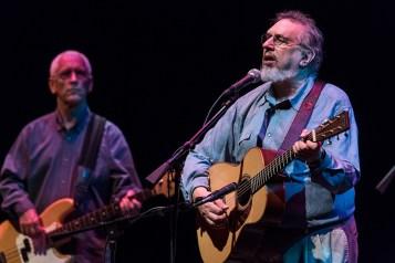 David Bromberg & bassist Butch Amiot at the Lobero Theatre 6/23/16