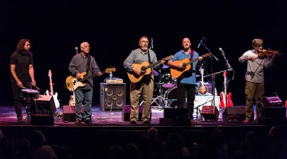 David Bromber Quintet unplug at the Lobero Theatre 6/23/16