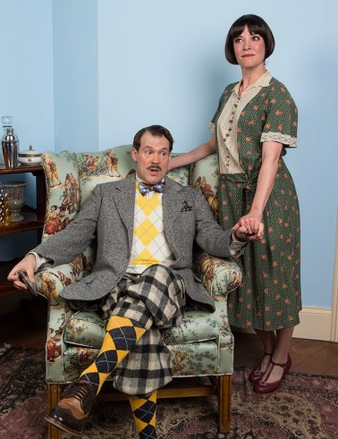Joseph Fuqua (Fred Sterroll) & Paige Lindsey White (Julia Sterroll) - Ensemble Theatre Company 6/1/16 New Vic Theatre
