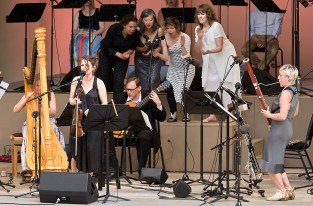 "Ojai Music Festival - Carla Kihlstedt's ""At Night We Walk in Circles and Are Consumed by Fire"" 6/10/16 Libbey Bowl"