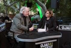 Ojai Music Festival - Gail Eichenthal interviewing artistic director Thomas W. Morris 6/11/16 Libbey Bowl