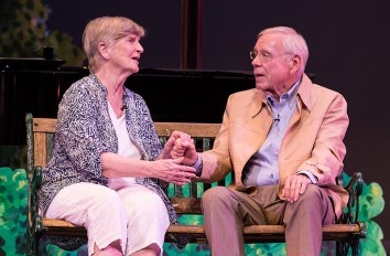 """""""First Date"""" with Bette Maxfield and Bruce MacKenzie - """"Center for Successful Aging's """"Senior (musical) Moments"""" 6/3/156 Marjorie Luke Theatre"""
