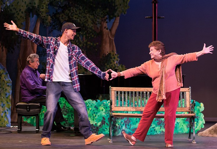 """""""A Jammin' Tea Mash-up for Two"""" with Wesley Walker & Julie McLeod - """"Center for Successful Aging's """"Senior (musical) Moments"""" 6/3/156 Marjorie Luke Theatre"""