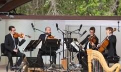 "Ojai Music Festival - The Caulder Quartet, ""Nymphea"" by Kaija Saariaho 6/11/16 Libbey Bowl"