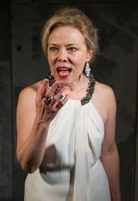 Kathryn Meisle as Lady Macbeth 9/18/16 New Vic Theatre