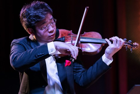 Camerata Pacifica -Paul Huang 9/16/16 Hahn Hall, Music Academy of the West