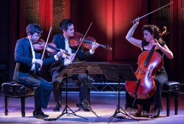 Camerata Pacifica - Paul Huang, Richard O'Neill and Ani Aznivoorian 9/16/16 Hahn Hall, Music Academy of the West