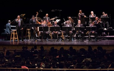 Jazz at Lincoln Center Orchestra young shool children's program - UCSB Arts & Lectures 10/4/16 Granada Theatre