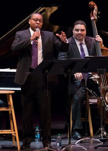 Wynton Marsalis gets the kids involved! Jazz at Lincoln Center Orchestra 10/4/16 Granada Theatre