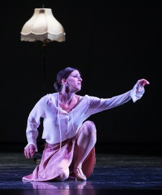 "Leila Drake Fossek in ""An American Tango"" - State Street Ballet 10/22/16 Granada Theatre"