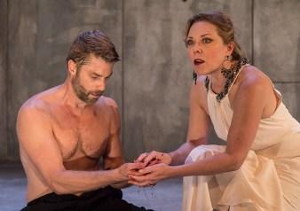 "Macbeth (Jamison Jones) & Lady Macbeth (Kathryn Meisle) - Ensemble Theatre Co. ""Macbeth"" 9/28/16 New Vic Theatre"