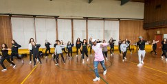 Jookin masterclass with Lil Buck and Ron Myles - UCSB Arts & Lectures 10/26/16 Sant Barbara High School