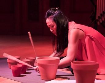 "Ji Hye Jung performing Caroline Shaw's ""Boris Kerner"" - Camerata Pacifica 11/18/16 Hahn Hall"