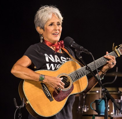 Joan Baez 75th Birthday Celebration concert - UCSB Arts & Lectures 11/3/16 Arlington Theatre