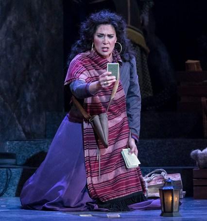 Leann Sandel-Pantaleo as Carmen - Opera Santa Barbara 11/2/16 Granada Theatre