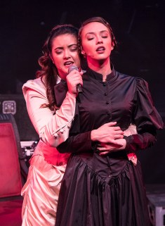 Sydney Wesson (Alice Russell) and Katie Moya (Lizzie Borden) - Out of the Box Theatre Co. 11/1/16 Center Stage Theater