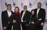 "Post concert reception -Santa Barbara Choral Society's ""Hallelujah Project 4"" 12/10/16 The Lobero Theatre"