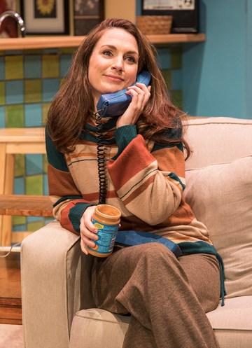"Caroline Kingsolving as Jennie Malone - Ensemble Theatre Co. production of Neil Simon's ""Chapter Two"" 11/30/16 New Vic Theatre"