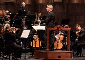 David Lockington conducting the Santa Barbara Symphony Orchestra - Concerts for Young People 1/27/17 the Granada Theatre