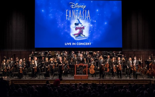 "Santa Barbara Symphony performing ""Fantasia"" 1/29/127 the Granada Theatre"