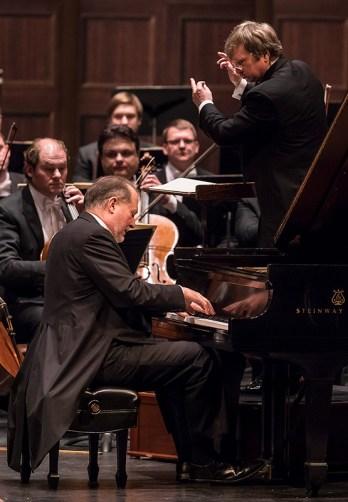 American pianist Garrik Ohlsson and Nikolay Alexeev with the ST. Petersburg Symphony Orchestra - CAMA Santa Barbara 3/14/17 The Granada Theatre